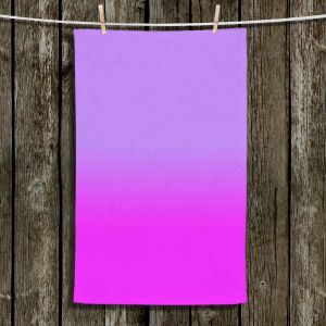 Unique Hanging Tea Towels | Susie Kunzelman - Ombre Purple | Ombre