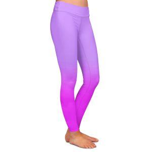 Casual Comfortable Leggings | Susie Kunzelman - Ombre Purple