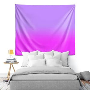 Artistic Wall Tapestry | Susie Kunzelman - Ombre Purple