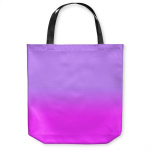 Unique Shoulder Bag Tote Bags |Susie Kunzelman - Ombre Purple