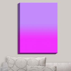 Decorative Canvas Wall Art | Susie Kunzelman - Ombre Purple | Ombre