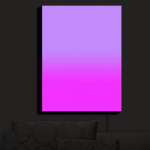 Nightlight Sconce Canvas Light | Susie Kunzelman - Ombre Purple | Ombre