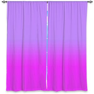 Decorative Window Treatments | Susie Kunzelman - Ombre Purple