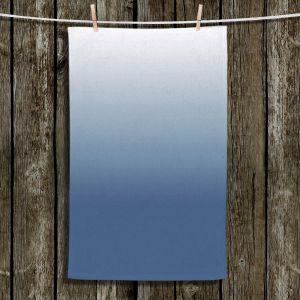 Unique Hanging Tea Towels | Susie Kunzelman - Ombre Riverside | Ombre
