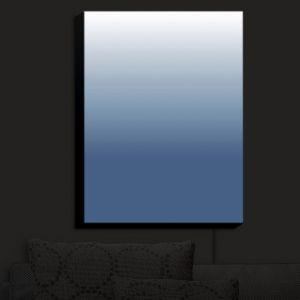 Nightlight Sconce Canvas Light | Susie Kunzelman - Ombre Riverside | Ombre