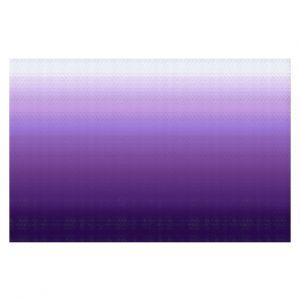 Decorative Floor Coverings | Susie Kunzelman - Ombre Royal Velvet | Ombre Monochromatic