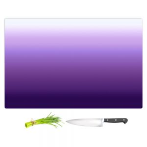 Artistic Kitchen Bar Cutting Boards | Susie Kunzelman - Ombre Royal Velvet | Ombre Monochromatic