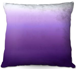 Decorative Outdoor Patio Pillow Cushion | Susie Kunzelman - Ombre Royal Velvet | Ombre Monochromatic