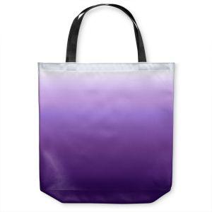 Unique Shoulder Bag Tote Bags | Susie Kunzelman - Ombre Royal Velvet | Ombre Monochromatic