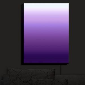 Nightlight Sconce Canvas Light | Susie Kunzelman - Ombre Royal Velvet