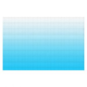 Decorative Floor Coverings | Susie Kunzelman - Ombre Sea Aqua