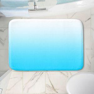 Decorative Bathroom Mats   Susie Kunzelman - Ombre Sea Aqua