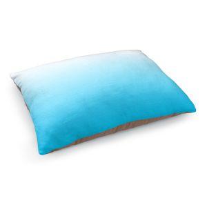 Decorative Dog Pet Beds | Susie Kunzelman - Ombre Sea Aqua