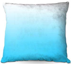 Throw Pillows Decorative Artistic | Susie Kunzelman - Ombre Sea Aqua