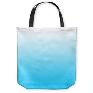 Unique Shoulder Bag Tote Bags |Susie Kunzelman - Ombre Sea Aqua