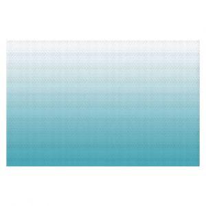 Decorative Floor Coverings | Susie Kunzelman - Ombre Sea Blue