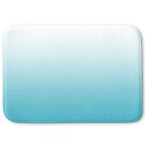 Decorative Bathroom Mats | Susie Kunzelman - Ombre Sea Blue