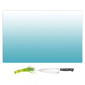 Artistic Kitchen Bar Cutting Boards | Susie Kunzelman - Ombre Sea Blue