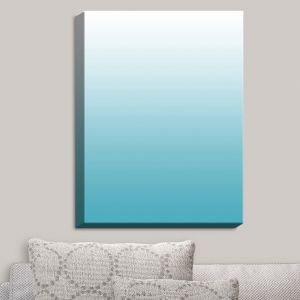 Decorative Canvas Wall Art | Susie Kunzelman - Ombre Sea Blue | Ombre