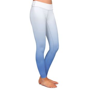 Casual Comfortable Leggings | Susie Kunzelman - Ombre Sea Night