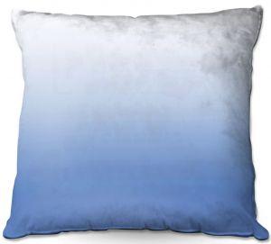 Decorative Outdoor Patio Pillow Cushion | Susie Kunzelman - Ombre Sea Night