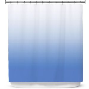 Premium Shower Curtains | Susie Kunzelman - Ombre Sea Night