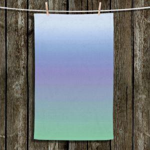 Unique Hanging Tea Towels | Susie Kunzelman - Ombre Sea Skies | Ombre