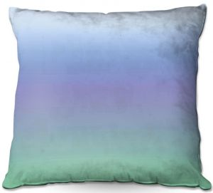Decorative Outdoor Patio Pillow Cushion | Susie Kunzelman - Ombre Sea Skies