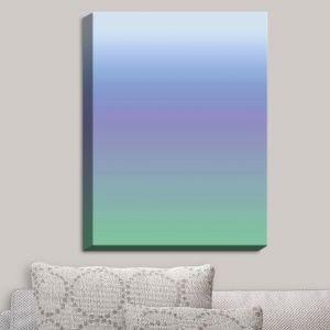 Decorative Canvas Wall Art | Susie Kunzelman - Ombre Sea Skies | Ombre