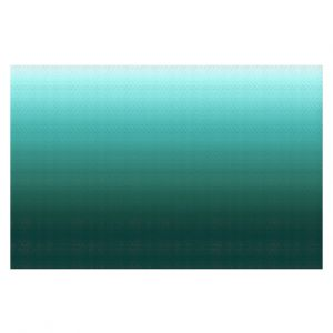 Decorative Floor Coverings | Susie Kunzelman - Ombre Seafoam | Ombre Monochromatic