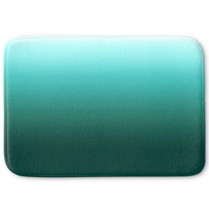 Decorative Bathroom Mats | Susie Kunzelman - Ombre Seafoam | Ombre Monochromatic
