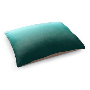 Decorative Dog Pet Beds | Susie Kunzelman - Ombre Seafoam | Ombre Monochromatic