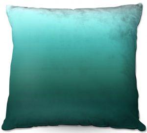 Throw Pillows Decorative Artistic | Susie Kunzelman - Ombre Seafoam | Ombre Monochromatic