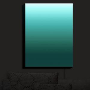 Nightlight Sconce Canvas Light | Susie Kunzelman - Ombre Seafoam