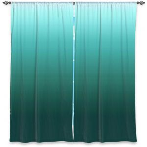 Decorative Window Treatments | Susie Kunzelman - Ombre Seafoam | Ombre Monochromatic