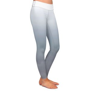 Casual Comfortable Leggings | Susie Kunzelman - Ombre Sharkskin