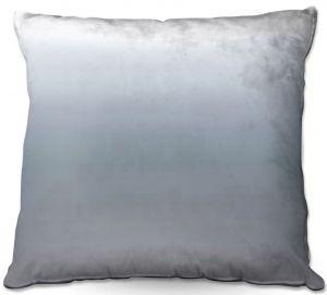 Decorative Outdoor Patio Pillow Cushion | Susie Kunzelman - Ombre Sharkskin