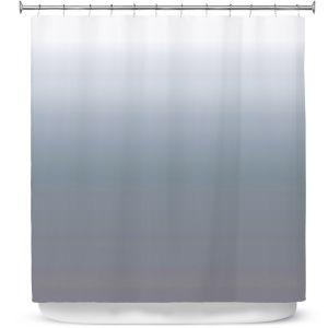 Premium Shower Curtains   Susie Kunzelman - Ombre Sharkskin