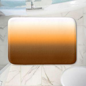 Decorative Bathroom Mats   Susie Kunzelman - Ombre Sienna   Ombre Monochromatic