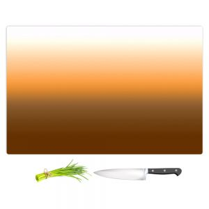 Artistic Kitchen Bar Cutting Boards | Susie Kunzelman - Ombre Sienna | Ombre Monochromatic