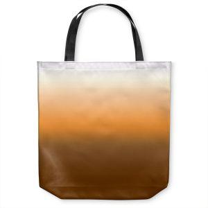 Unique Shoulder Bag Tote Bags | Susie Kunzelman - Ombre Sienna | Ombre Monochromatic