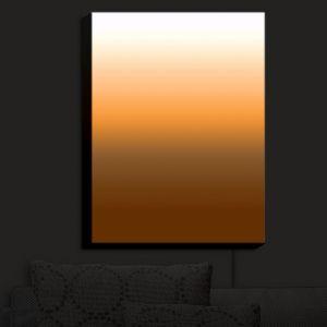 Nightlight Sconce Canvas Light | Susie Kunzelman - Ombre Sienna