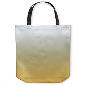 Unique Shoulder Bag Tote Bags |Susie Kunzelman - Ombre Spicy Mustard