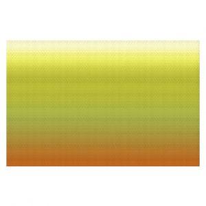 Decorative Floor Coverings | Susie Kunzelman - Ombre Sunset | Ombre Monochromatic