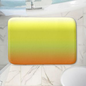 Decorative Bathroom Mats   Susie Kunzelman - Ombre Sunset   Ombre Monochromatic