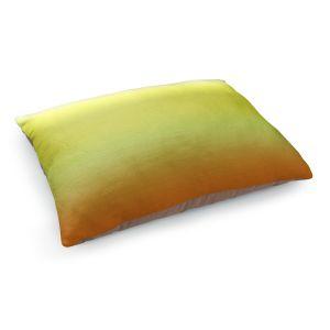 Decorative Dog Pet Beds | Susie Kunzelman - Ombre Sunset | Ombre Monochromatic