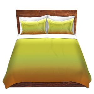 Artistic Duvet Covers and Shams Bedding | Susie Kunzelman - Ombre Sunset | Ombre Monochromatic