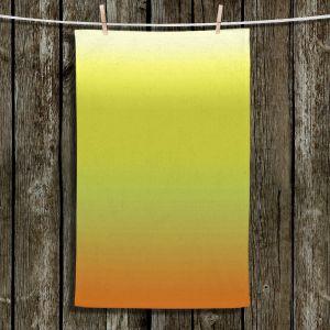 Unique Bathroom Towels | Susie Kunzelman - Ombre Sunset | Ombre Monochromatic