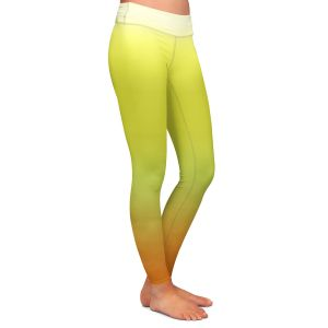 Casual Comfortable Leggings | Susie Kunzelman - Ombre Sunset | Ombre Monochromatic
