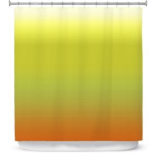 Premium Shower Curtains | Susie Kunzelman - Ombre Sunset | Ombre Monochromatic
